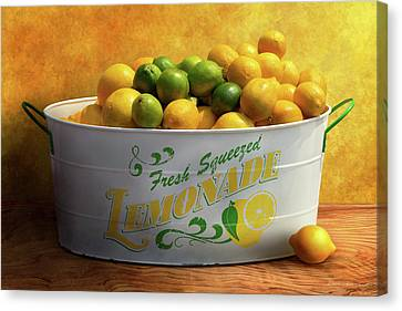 Canvas Print - Fruit - Lemons - When Life Gives You Lemons by Mike Savad