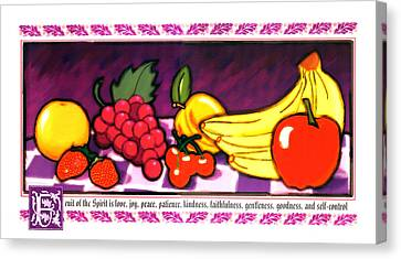 Fruit Of The Spirit Canvas Print by Brett H Runion