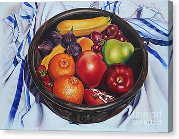 Canvas Print - Fruit Of The Spirit by Ilse Kleyn