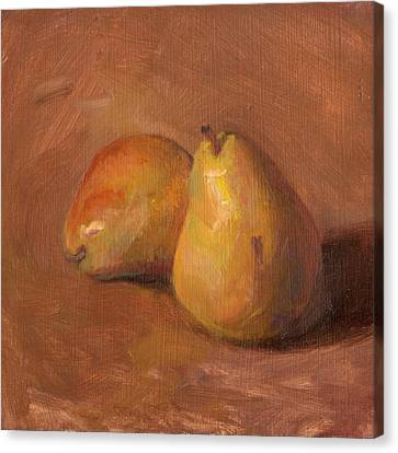 Fruit Of The Spirit- Pear 1 Canvas Print