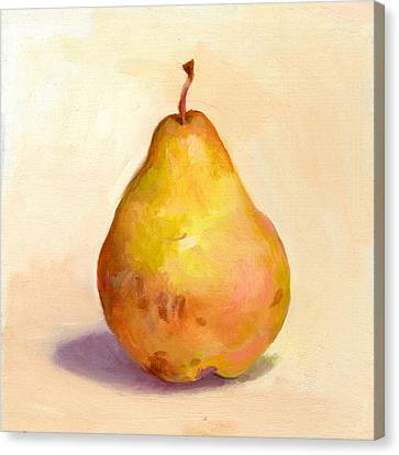 Fruit Of The Spirit- Pear 3 Canvas Print
