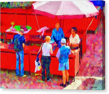Fruit Of The Vendor Canvas Print by Jeff Kolker