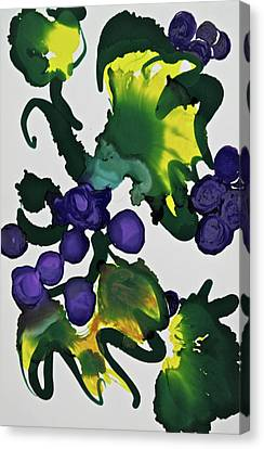 Concord Grapes Canvas Print - Fruit Of The Vine by Michele Myers
