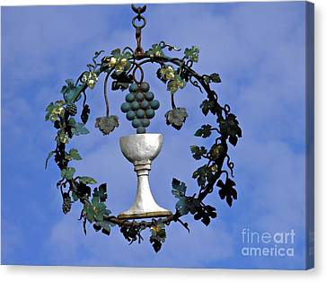 Fruit Of The Vine Canvas Print by Sarah Loft