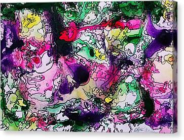 Fruit Punch Canvas Print by Betty Lu Aldridge