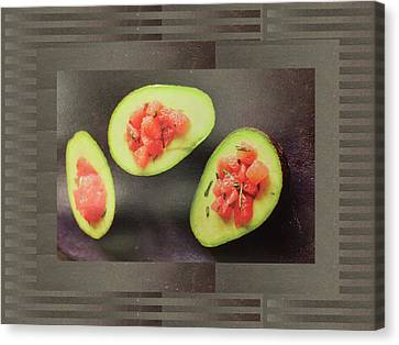 Canvas Print featuring the photograph Fruit Salad Chef Cuisine Kitchen Christmas Holidays Festivals Birthday Dad Mom  by Navin Joshi