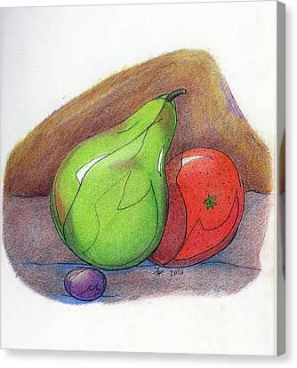 Fruit Still 34 Canvas Print by Loretta Nash