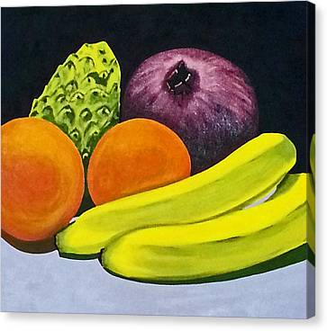 Fruitful Canvas Print by Neelee Art by Farah