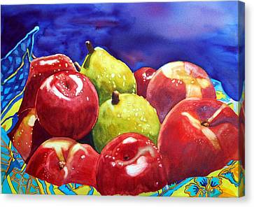 Fruitfully Yours Canvas Print by Gerald Carpenter