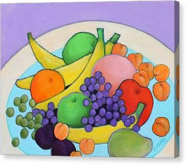 Fruitilicious Canvas Print by Lorraine Klotz