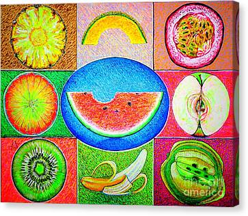 Fruits Canvas Print by Viktor Lazarev