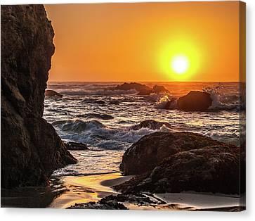 Ft Bragg Sunset Canvas Print