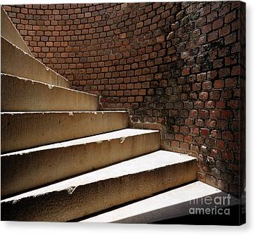 Ft. Taylor Stairs Canvas Print