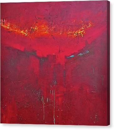 Fuego Canvas Print by Filomena Booth