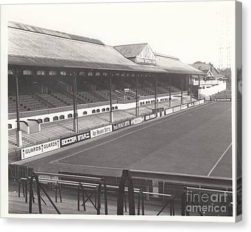 Fulham - Craven Cottage - East Stand Stevenage Road 1 - Leitch - September 1969 Canvas Print