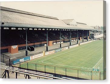 Fulham - Craven Cottage - East Stand Stevenage Road 3 - Leitch - August 1991 Canvas Print by Legendary Football Grounds
