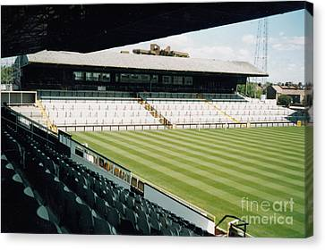 Fulham - Craven Cottage - North Stand Hammersmith End 2 - August 1998 Canvas Print by Legendary Football Grounds