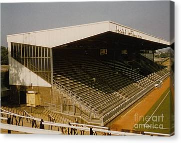 Fulham - Craven Cottage - Riverside Stand 2 - August 1986 Canvas Print