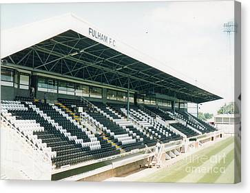 Fulham - Craven Cottage - Riverside Stand 4 - August 1998 Canvas Print
