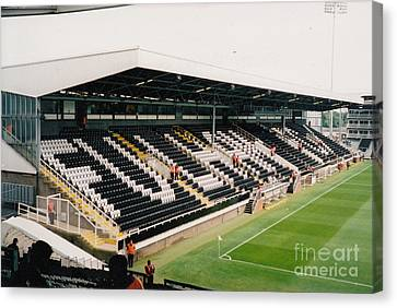 Fulham - Craven Cottage - Riverside Stand 5 - July 2004 Canvas Print by Legendary Football Grounds