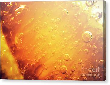 Full Frame Close Up Of Orange Soda Water Canvas Print by Jorgo Photography - Wall Art Gallery