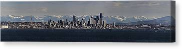 Full Frontal Seattle Canvas Print by James Heckt