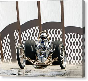 Full Frontal Slingshot Canvas Print by Christopher McKenzie