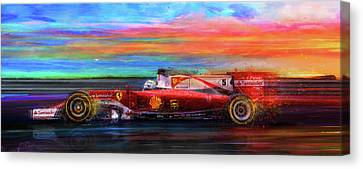 Full Gallop Canvas Print by Alan Greene