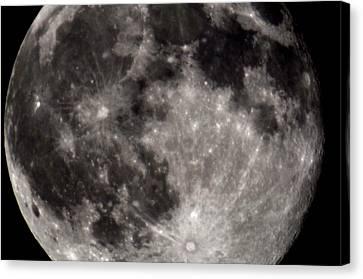 Full Moon 7-31-15 Canvas Print