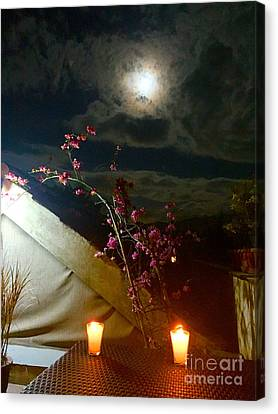 Full Moon Guatemala Canvas Print