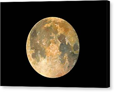 Full Moon Canvas Print by Juan Bosco