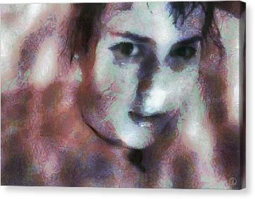 Canvas Print featuring the digital art Full Of Expectation by Gun Legler