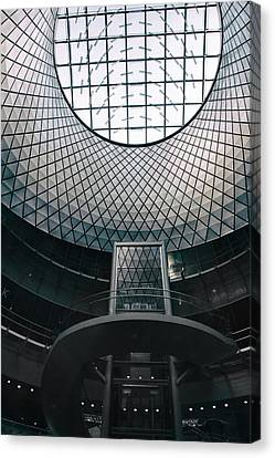Ceiling Canvas Print - Fulton Center by Jessica Jenney