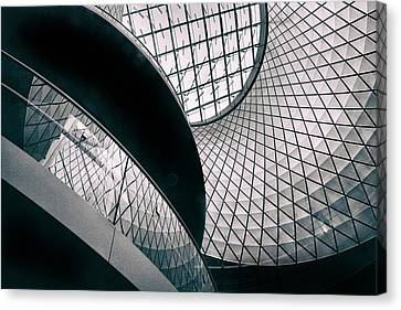 Fulton Station Abstract Canvas Print by Jessica Jenney