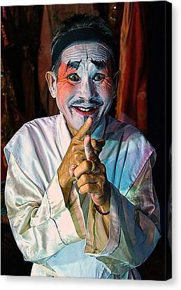 Fun At The Opera Canvas Print by Ian Gledhill