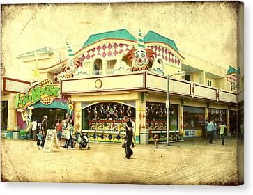 Fun House - Jersey Shore Canvas Print