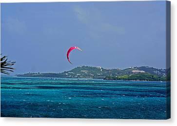 Fun In St. Croix Canvas Print by Martin Morehead