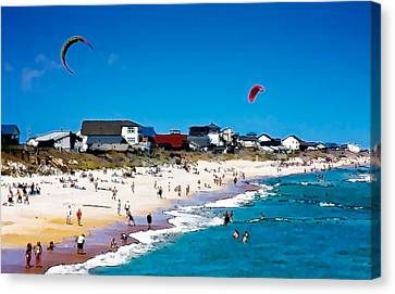 Fun In The Sun Canvas Print by John Pagliuca