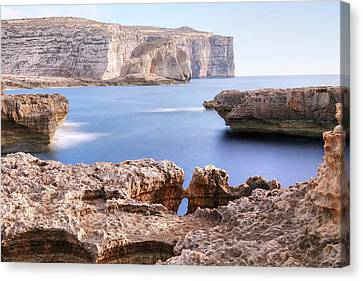 Fungus Rock - Gozo Canvas Print