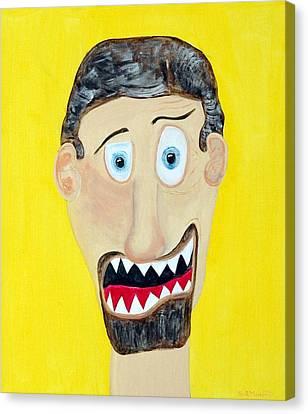 Funist Canvas Print by Sal Marino