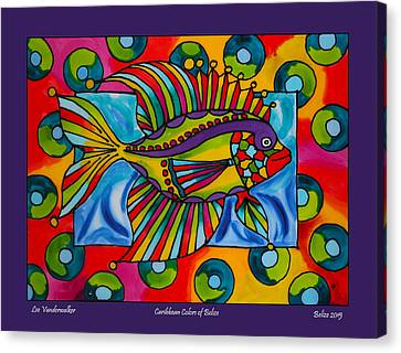 Funky Fish Caye Caulker Belize Canvas Print