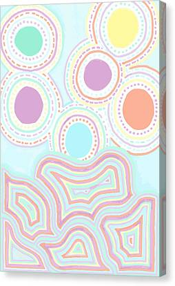 Funky Fun Canvas Print by Jill Lenzmeier