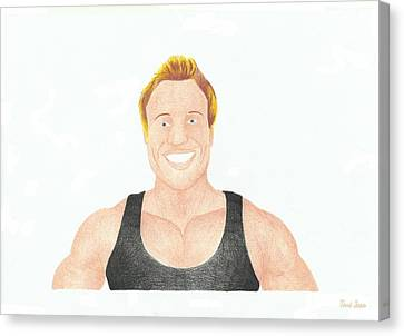 Furious Pete Canvas Print