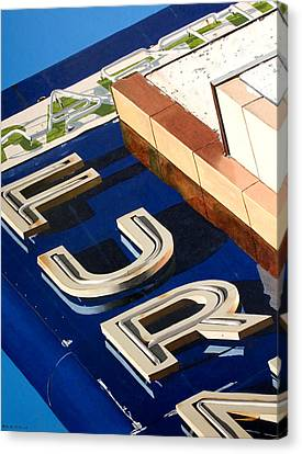 Furn Canvas Print by Rob De Vries