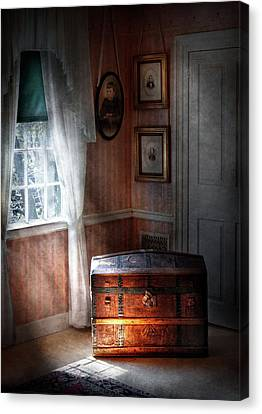 Furniture - Bedroom - Family Secrets Canvas Print by Mike Savad