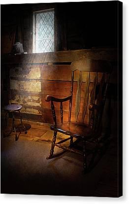 Furniture - Chair - Forgotten Memories  Canvas Print