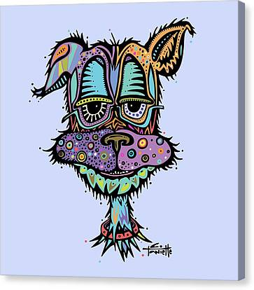 Furr-gus Canvas Print by Tanielle Childers