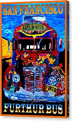 50th Anniversary Further Bus Tour Canvas Print