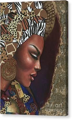 Further Contemplation Canvas Print by Alga Washington