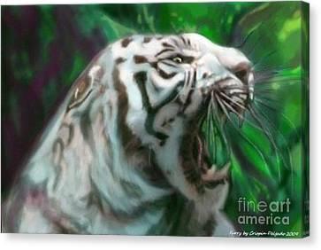 Fury Canvas Print by Crispin  Delgado